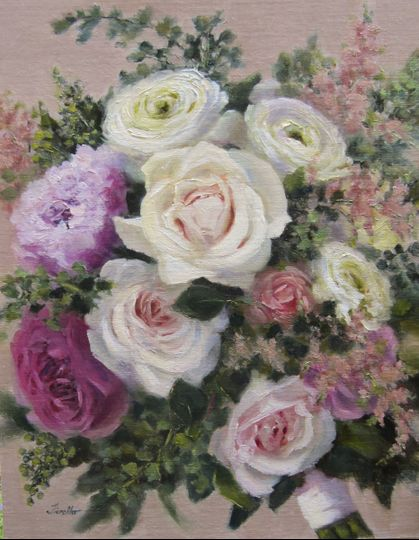 """Forever Bouquet Paintings"" by Pat Fiorello"