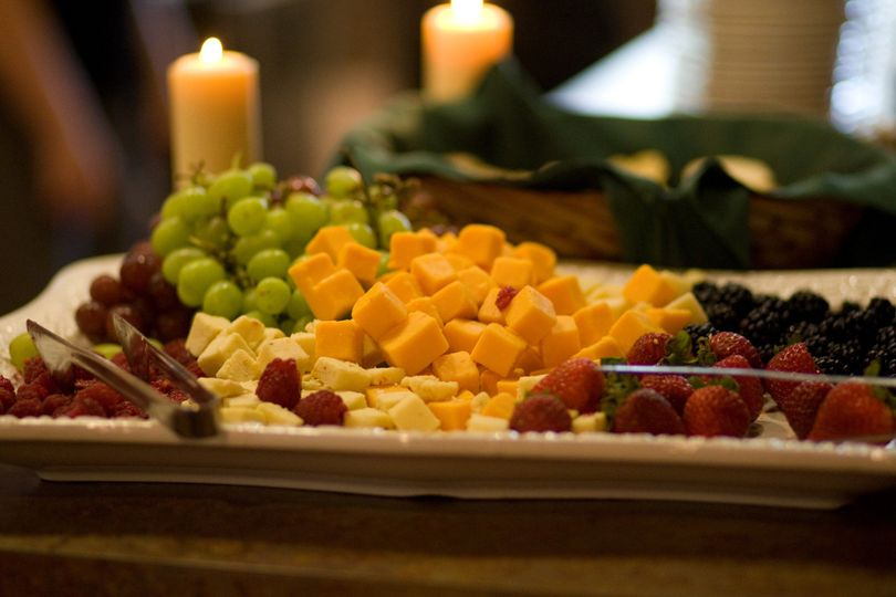 rc fruit and cheese platter
