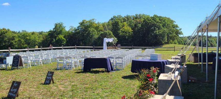 Sept 2020 Outdoor Wedding