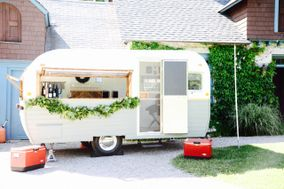 Sweet Violet, Vintage Wedding Camper