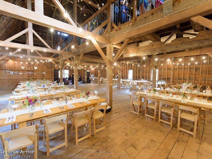 Tmx 1476224161467 Reception On Hay Mow Woodstock, VT wedding venue