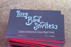 Love Bird Invites