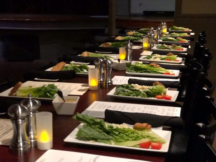 Salad to start