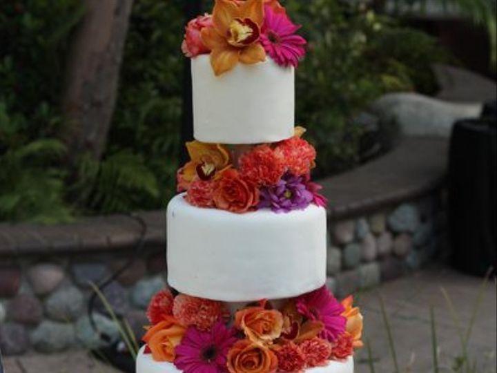 Tmx 1243123333950 Cakeflower1 Moorpark wedding cake