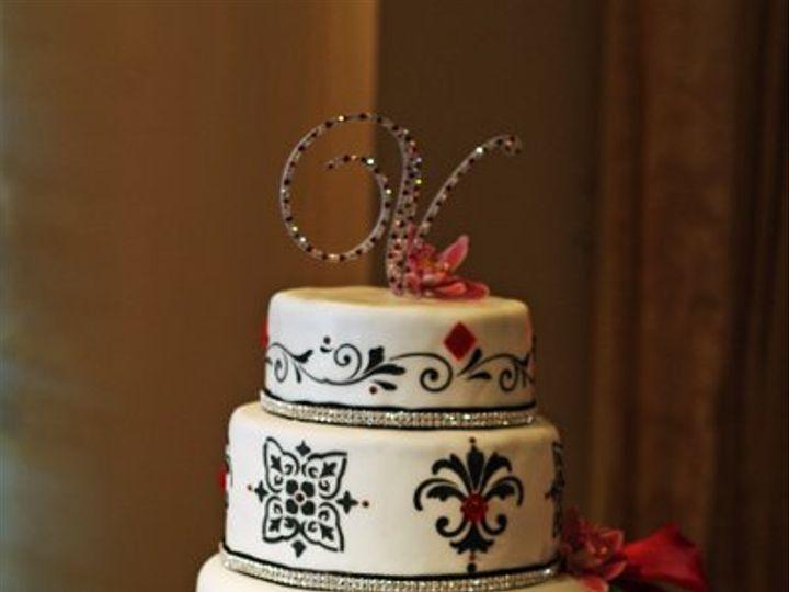 Tmx 1267891182346 StencilCake Moorpark wedding cake