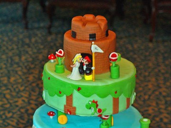 Tmx 1303684991279 Mario1print Moorpark wedding cake