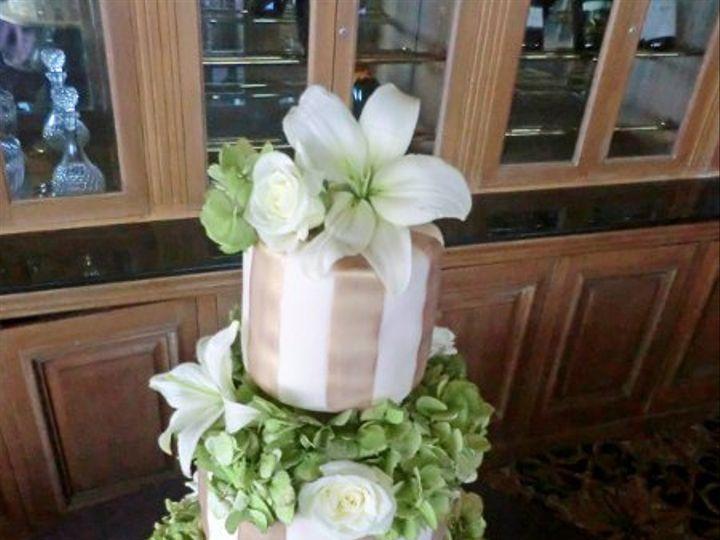 Tmx 1303685232451 Goldstrip Moorpark wedding cake