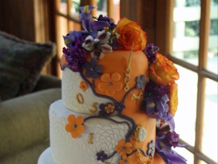 Tmx 1306278575188 TimeTravelCake Moorpark wedding cake