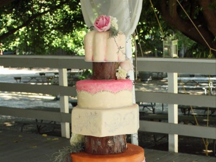 Tmx 1315684607032 Treestumpcake Moorpark wedding cake