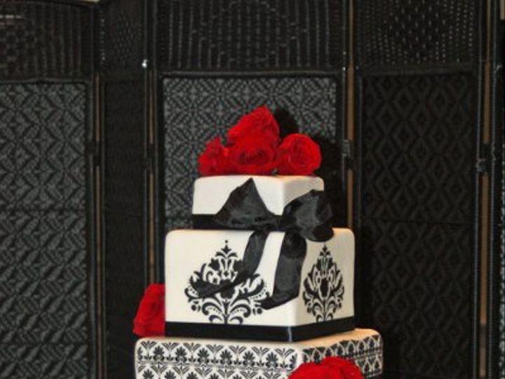 Tmx 1315684920219 DamaskCake Moorpark wedding cake