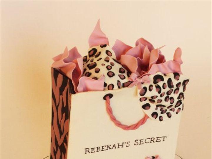 Tmx 1320010783254 RebekahsLingerieCake Moorpark wedding cake