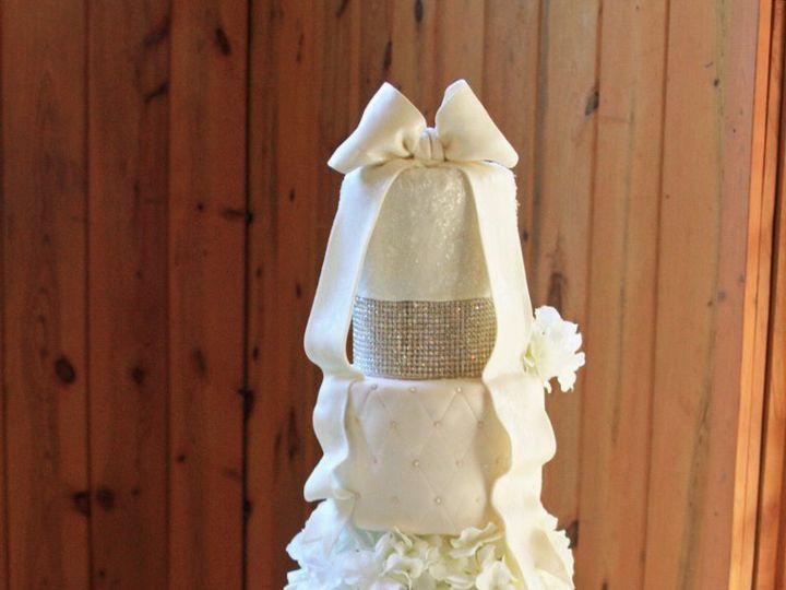Tmx 1343012236676 CrystalBowCake Moorpark wedding cake