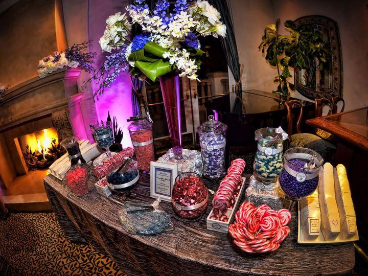 Tmx 1349719084027 PurpleCandyBuffet Moorpark wedding cake
