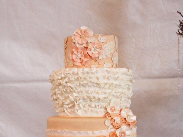 Tmx 1352606864512 RuffleCake1 Moorpark wedding cake
