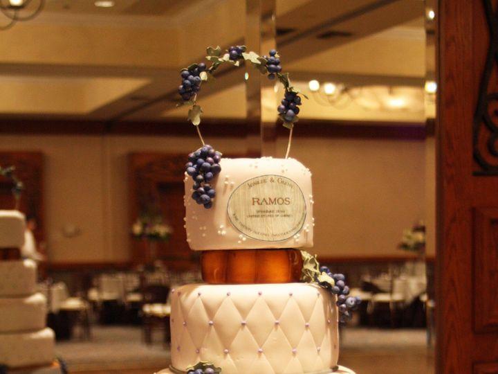 Tmx 1375140227029 Wine Barrel Cake Moorpark wedding cake