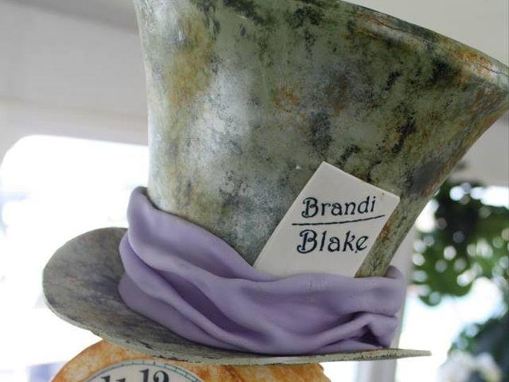 Tmx 1376602059611 Alice In Wonderland Moorpark wedding cake