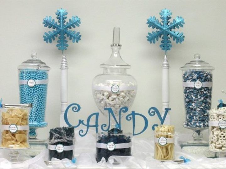 Tmx 1376602255281 Blue Candy Bar Moorpark wedding cake