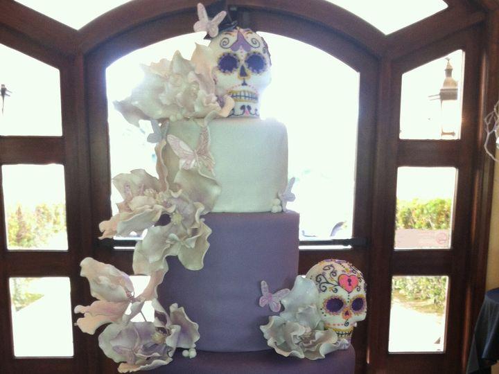 Tmx 1436397469341 Skull Cake 1 Moorpark wedding cake