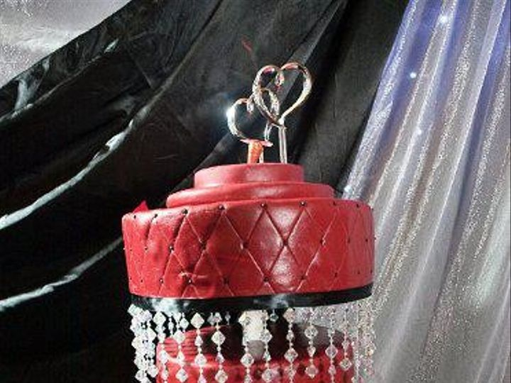 Tmx 1445613615415 Chandelier Cake Moorpark wedding cake