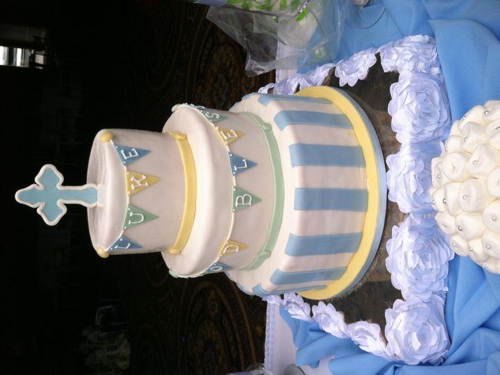 Tmx 1445614277167 Baptism Cake Moorpark wedding cake