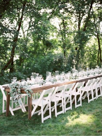 Intimate Backyard Wedding. Photo by Jake Anderson Photography