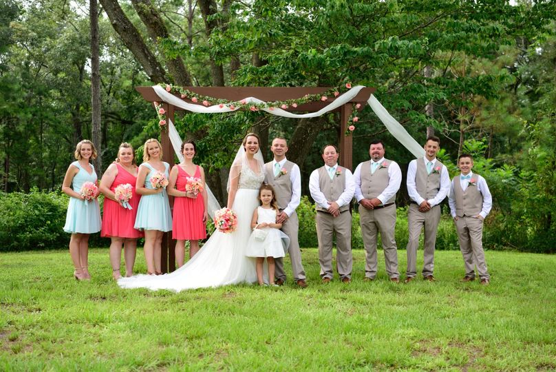 Wedding Party - Loblolly Rise