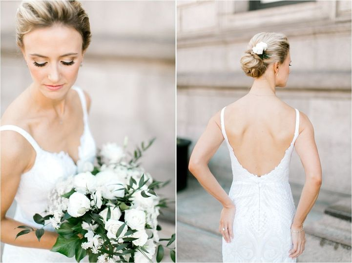 updo, bride, makeup