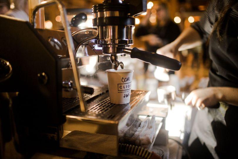 Premium espresso machine