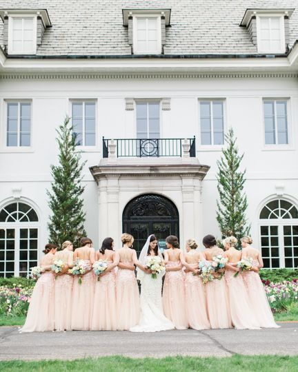 The wedding party - Zachera Photo