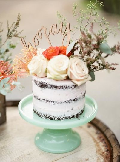Delicious looking cake