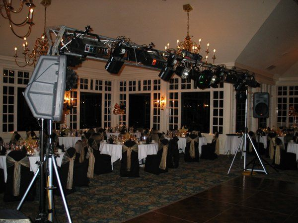 Lighting Rig for New Years Eve