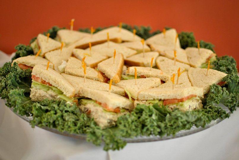 Homemade Chicken Salad on Fresh Baked Rye Bread
