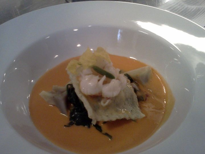 Tmx 1462671731133 Lobster Bisque Over Fresh Spinach  Cheese Ravioli Virginia Beach, VA wedding catering