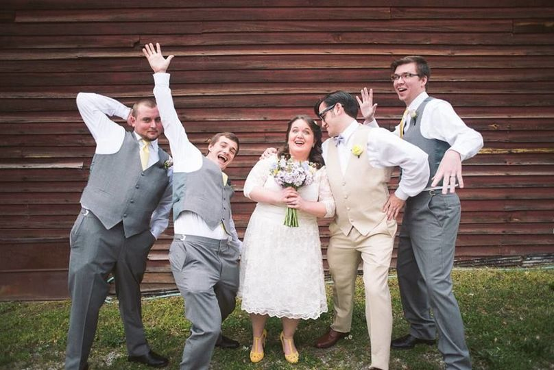 Tim and Erika + Groomsmen