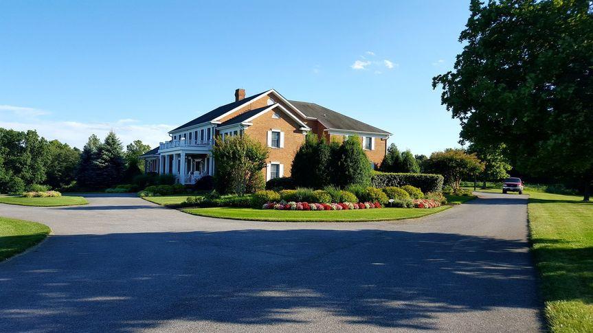 Valhalla driveway view