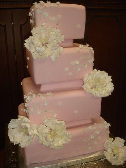 Simple Elegance in Cake Design - Wedding Cake - Las Vegas , NV ...