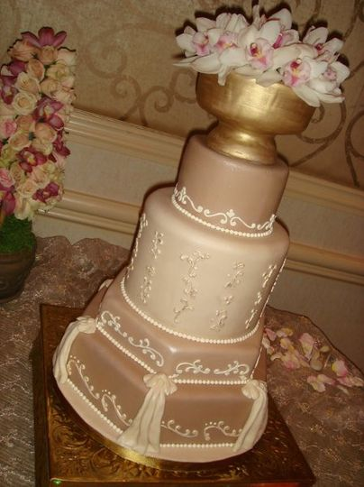 Simple Elegance In Cake Design Las Vegas Nv