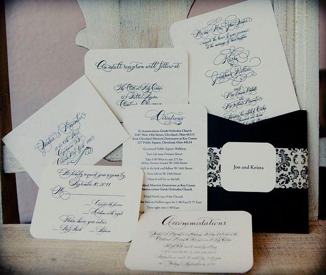 Abigail T. Calligraphy - Invitations - Franklin, TN - WeddingWire