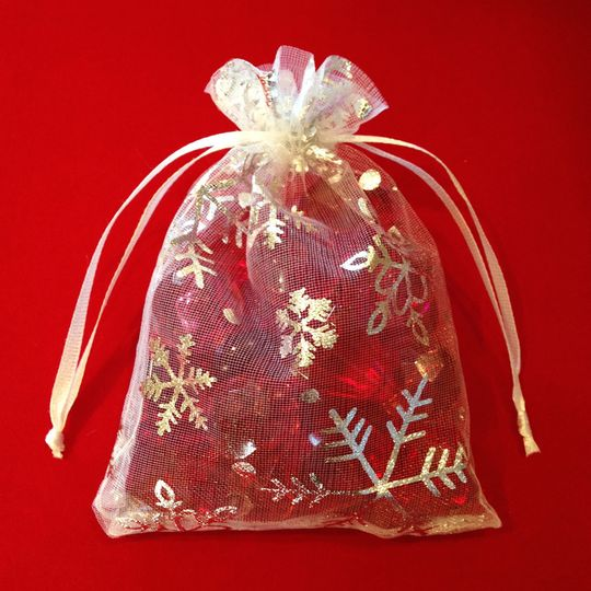 gift bags snowflakes