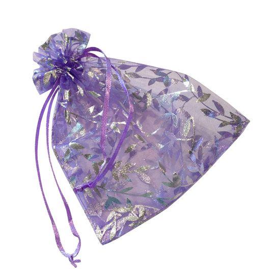 lavender organza party goody bags
