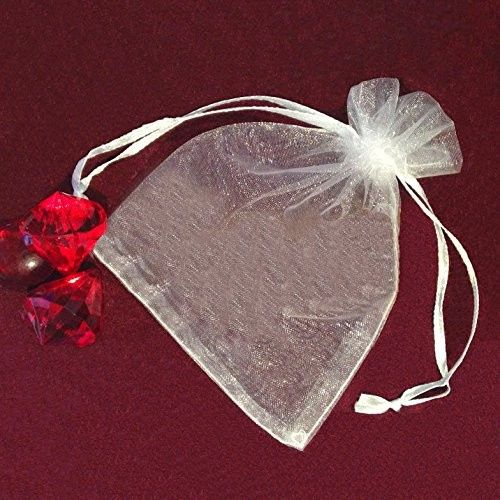 Tmx 1432872312038 Organza Bags Solid White 4.5 By 3.5 Inches Staten Island wedding favor