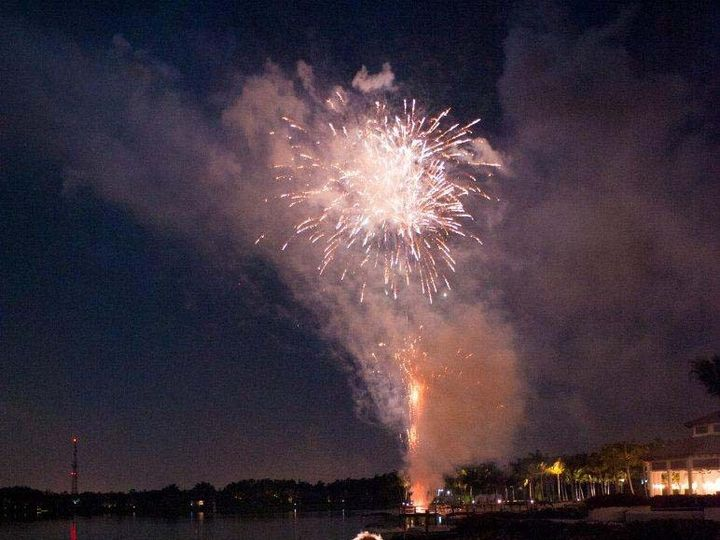 Tmx 1418415868875 Fireworks Display Over The Lake At Miromar Fort Myers, FL wedding venue
