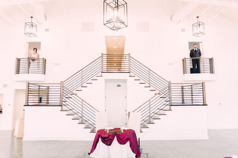Split staircase suites
