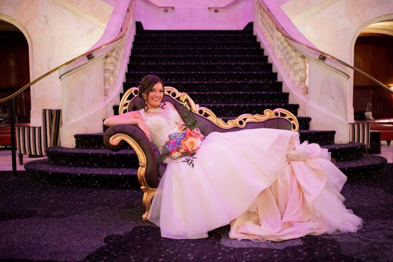 Bride at Renaissance Hotel