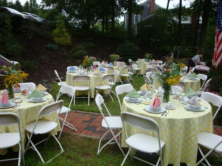 Tmx 1415905754825 Y W Checked Linen Plymouth wedding rental