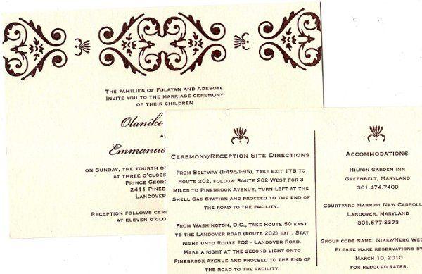 Tmx 1298933228100 Img092 Rockville, District Of Columbia wedding invitation