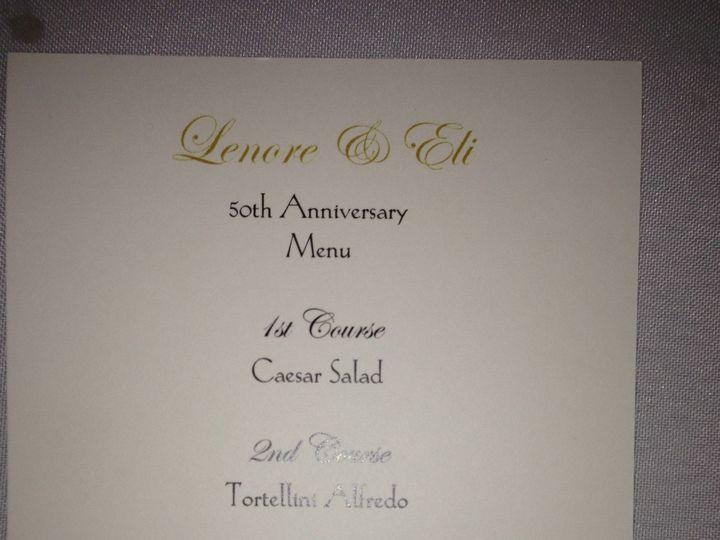 Tmx 1374686179868 Menu Rockville, District Of Columbia wedding invitation