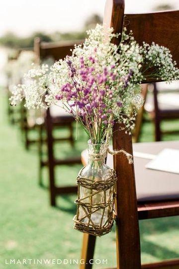 Plant as chair decor