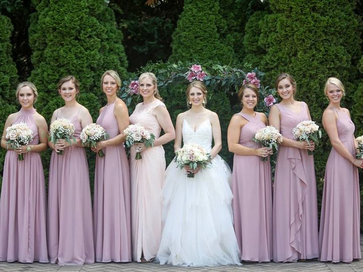 Tmx Ashley And Bridesmaids 51 119875 Wake Forest, North Carolina wedding venue