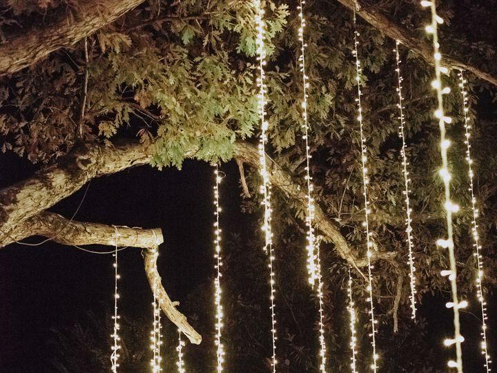 Tmx Bride And Groom With Fairy Lights 51 119875 Wake Forest, North Carolina wedding venue